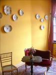《アートフォト》プラハ チェスキー・シュテルンベルク城の黄色いお部屋(レンタル対象)