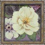 【絵画】コレン サラ「プラム アンド ラベンダー ガーデン1」 ゆうパケット