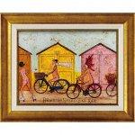 【絵画】サム トフト「はだかでサイクリング」