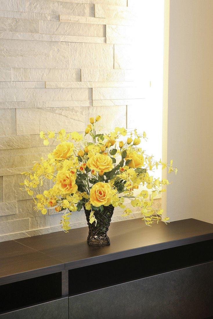 【アートフラワー 造花】グレ—スア—スカラ—〔テーブルタイプ〕