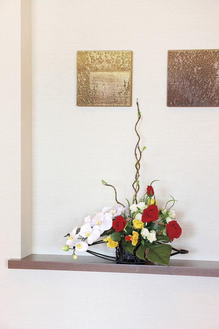 【アートフラワー 造花】華やか〔テーブルタイプ〕