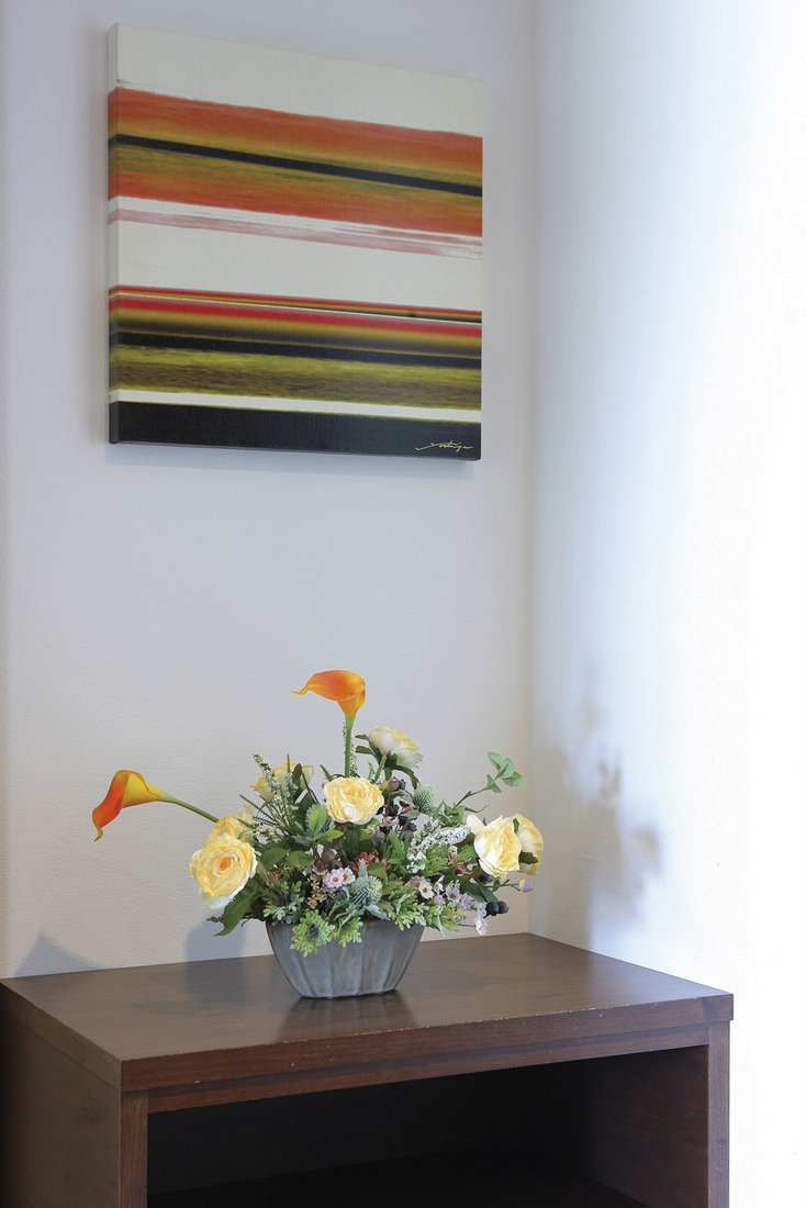 【アートフラワー 造花】マ—ブル〔テーブルタイプ〕