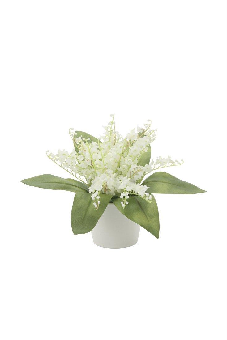 【アートフラワー 造花】すずらん〔ミニタイプ〕