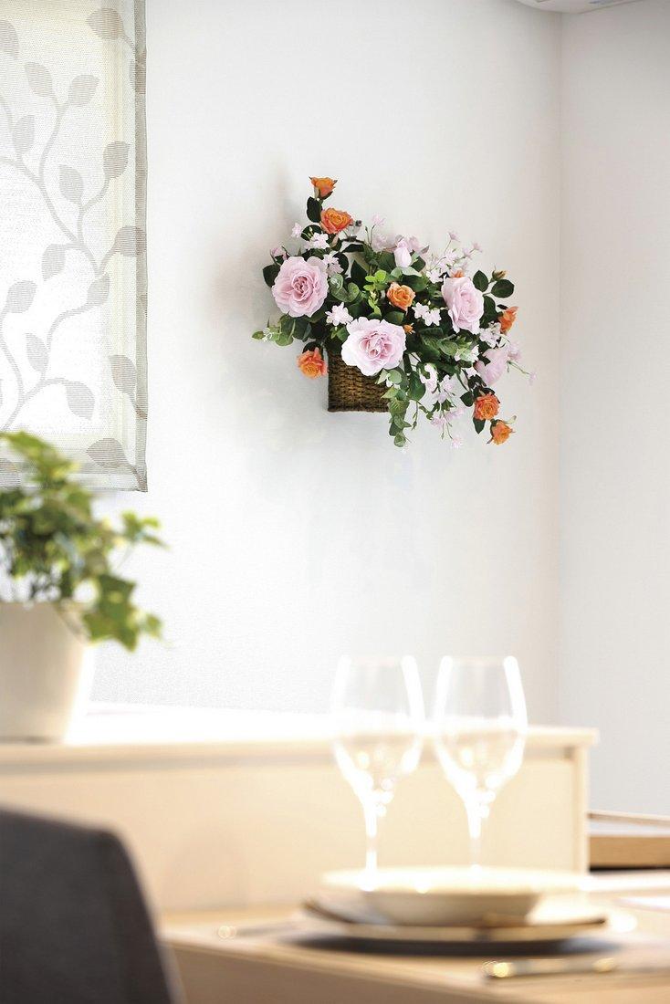 【アートフラワー 造花】シャインゴ—ルド〔壁掛けタイプ〕