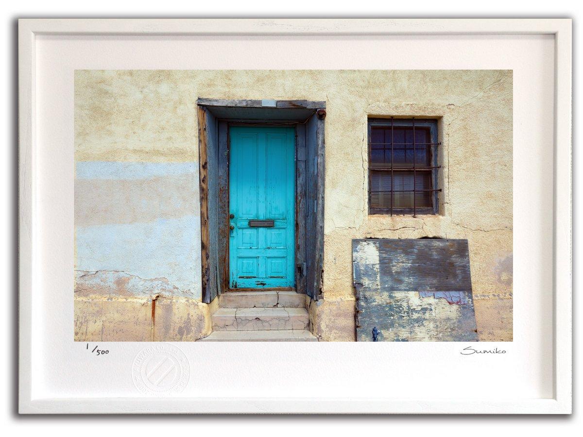 【版画 絵画】アリゾナの古びた家(スミコ スコット)/インテリア 壁掛け 額入り アート アートパネル アートフレ…