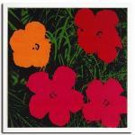 《アートフレーム》Flowers,1964(1red,1yellow,2pink)