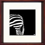 《アートフレーム》Zebra(シマウマ)/ヤスカワ トシアキ