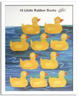 《エリック・カール》Eric Carle 10匹のおもちゃのあひるの物語(10 Little Rubber Ducks)