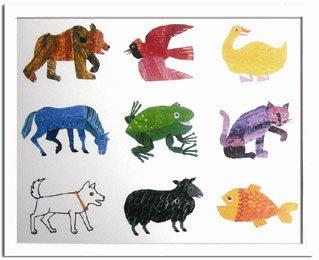 《エリック・カール》Eric Carle Animals(動物)