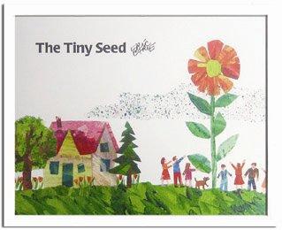 《エリック・カール》Eric Carle ちいさいタネ(The Tiny Seed)