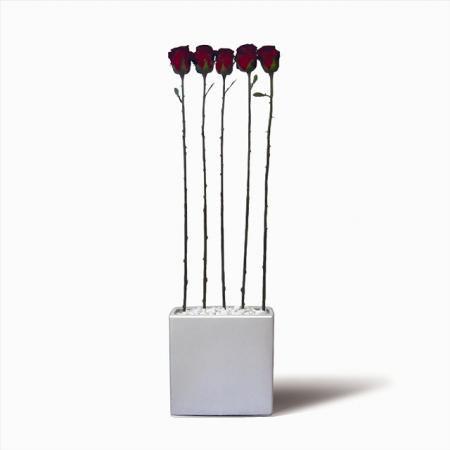 《人工観葉植物・造花》Rose(バラ)