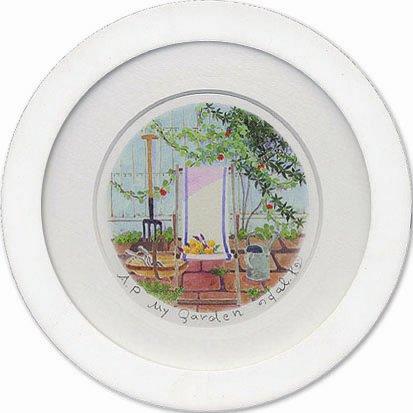 《栗乃木ハルミ くりのき はるみ アートフレーム》My Garden