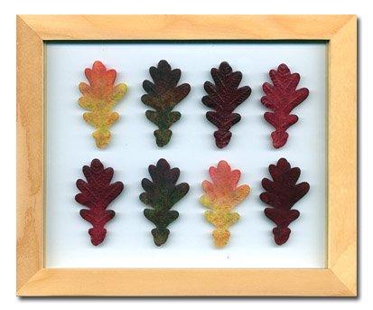 《プラント アートフレーム》Oak Leaf(オークリーフ)