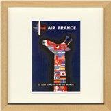 《レイモン・サヴィニャック》Air France(エールフランス)(ゆうパケット)