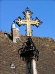 《アートフォト》ハンガリー センテンドレ 中央広場の十字架(レンタル対象)