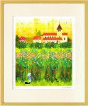 【絵画】はりたつお ライヒュナウの花畑