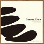 【アートフレーム】名作椅子シリーズ イラスト タカアキ ヤスカワ コロナチェア