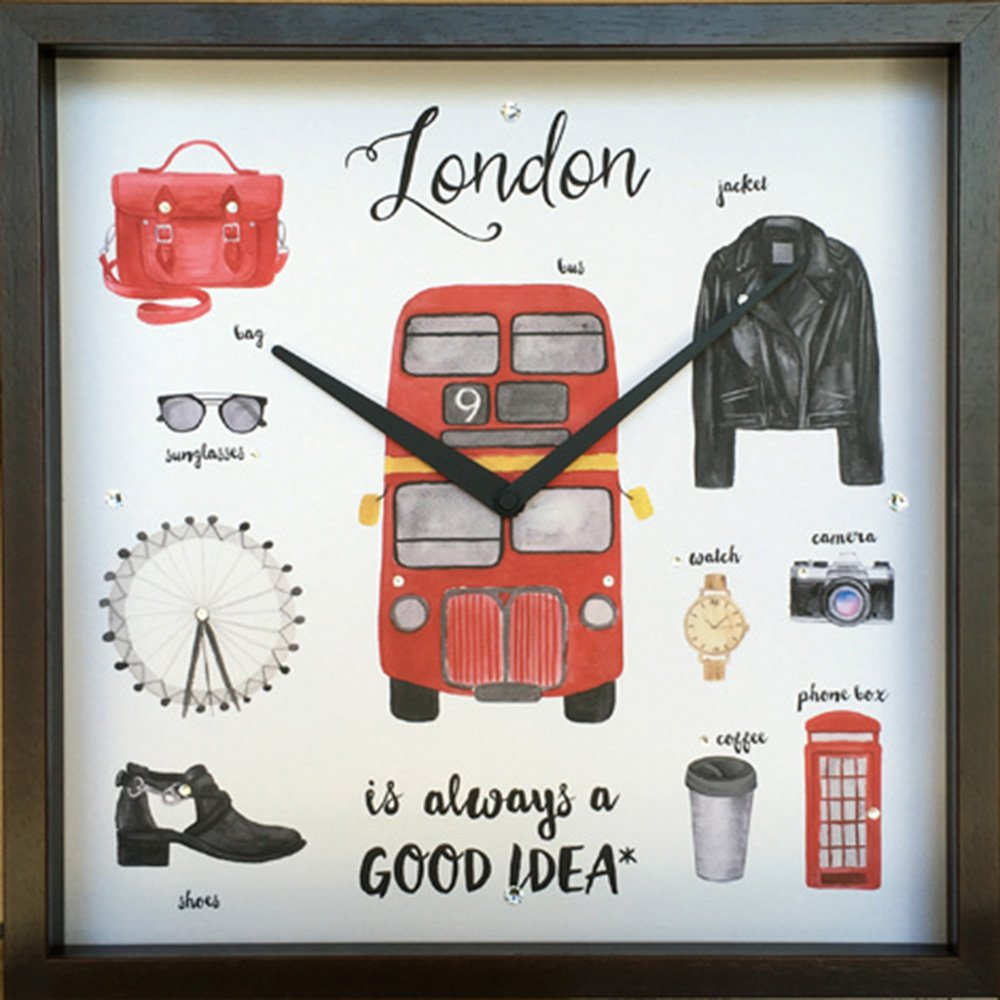 【時計】グッドアイデア クロック ロンドン