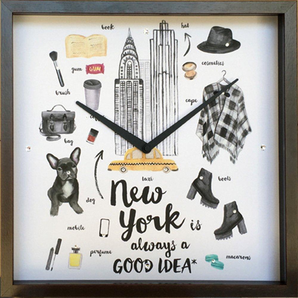 【時計】グッドアイデア クロック ニューヨーク