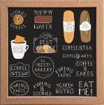 【アートフレーム】サインフレーム コーヒー クッキー 紅茶 マフィン ビストロ ゆうパケット