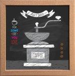 【アートフレーム】サインフレーム わたしの大切なもの、コーヒー ゆうパケット