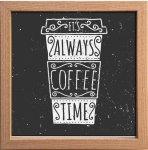 【アートフレーム】サインフレーム いつもコーヒータイム ゆうパケット