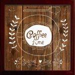 【アートフレーム】サインフレーム コーヒータイム ステキなひととき ゆうパケット