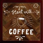 【アートフレーム】サインフレーム コーヒーではじめよう Start with COFFEE ゆうパケット