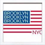 【アートフレーム】サインフレーム ブルックリン ニューヨーク ゆうパケット