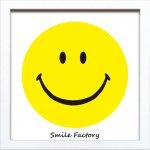 【アートフレーム】サインフレーム スマイル 笑顔 ニコちゃんマーク ゆうパケット
