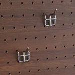 【壁掛けボードフレーム用フック】ペグボード パンチングボード 有孔ボード フック 物掛け用 長さ2cm