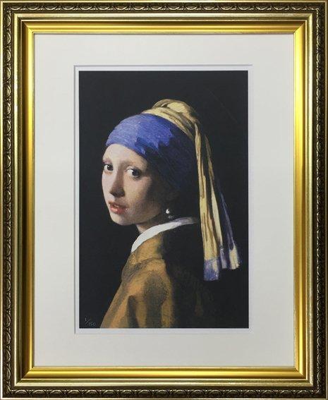 【名画】フェルメール 真珠の耳飾りの少女