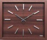 【時計】デザイン クロック レクタングル 長方形