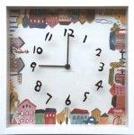 【時計】アーティスト クロック 二木ちかこ ハウス2