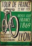 【ポスター】ツール・ド・フランス ポスターのみ フレームなし