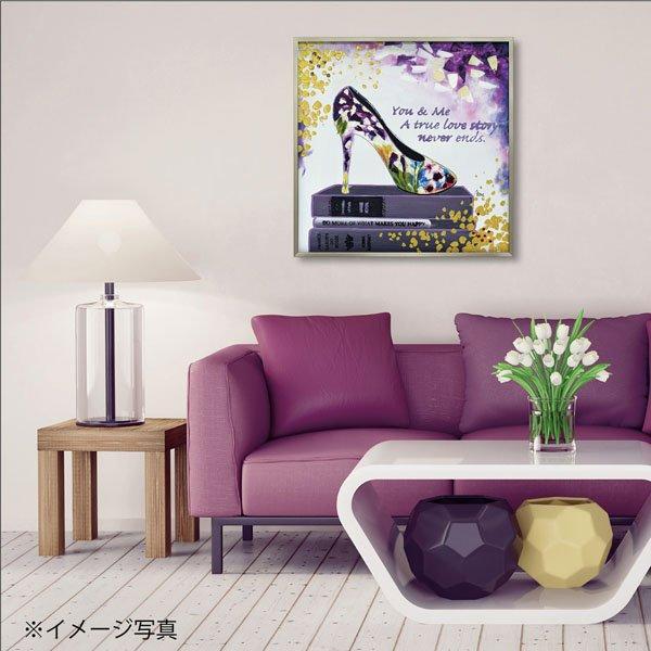 【絵画 油絵】オイル ペイント アート「ユー アンド ミー」