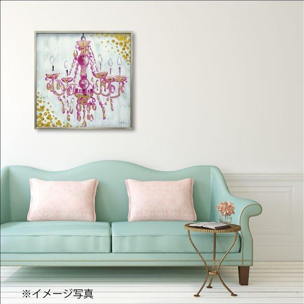【絵画 油絵】オイル ペイント アート「ラブ シャンデリア」