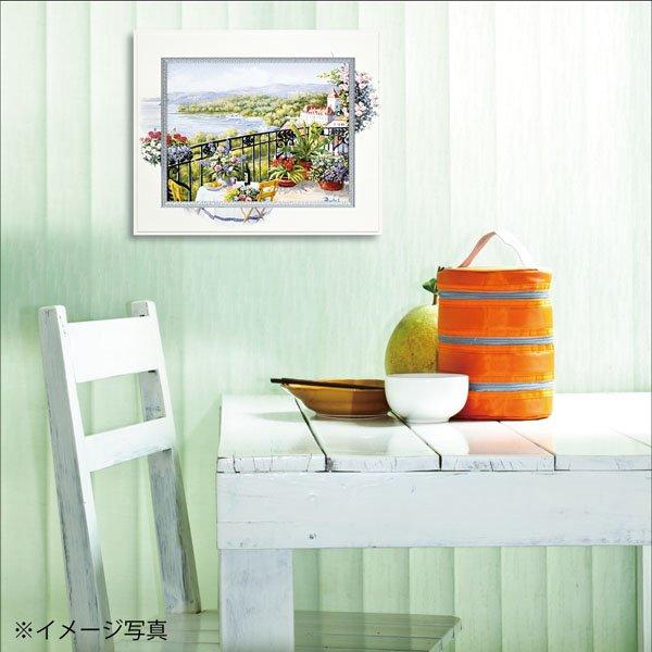 【絵画】ビッグアート ピーター モッツ「ガーデン テラス ビュー(Mサイズ)」