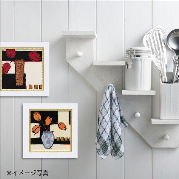 【絵画】ミニゲル アートフレーム ジャン ワイス「サマー 1987」ゆうパケット