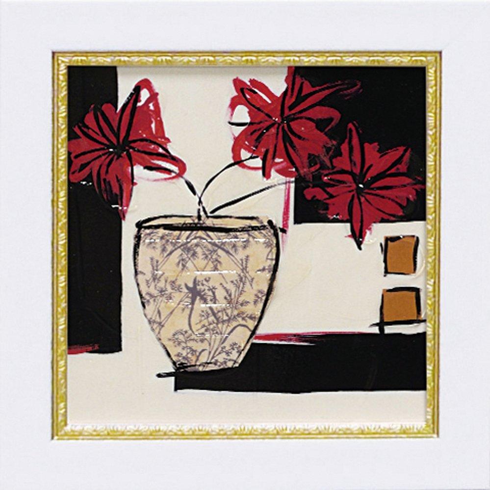 【絵画】ミニゲル アートフレーム ジャン ワイス「サマー 1988」ゆうパケット