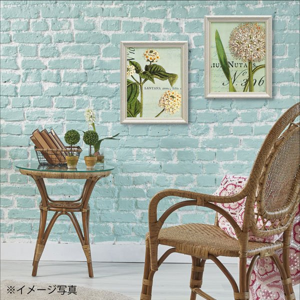 【絵画】ワイルド アップル スタジオ「ボタニーク ブルー2」