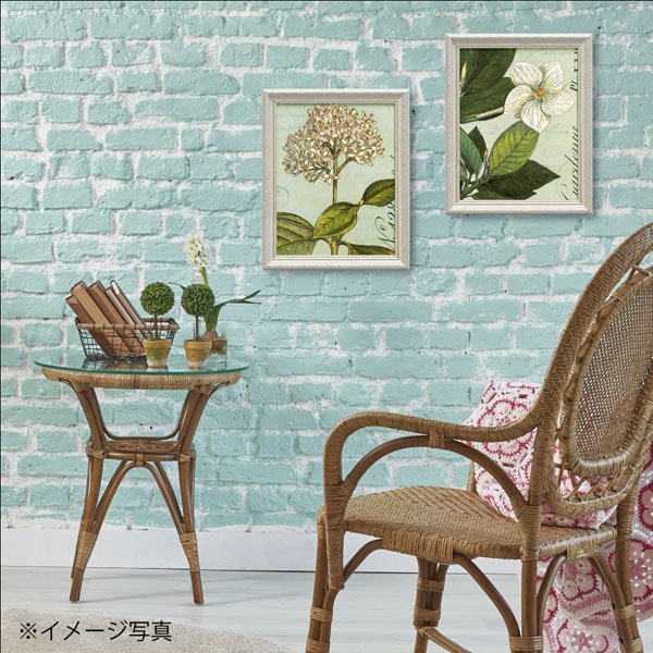 【絵画】ワイルド アップル スタジオ「ボタニーク ブルー3」