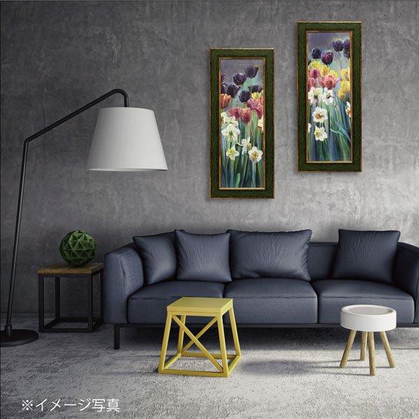 【絵画】マリリン ハーゲマン「グレープ チューリップ パネル2」