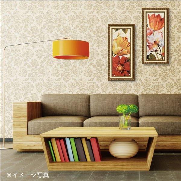 【絵画】リサ オーディット「ポエジー フローラル パネル1」