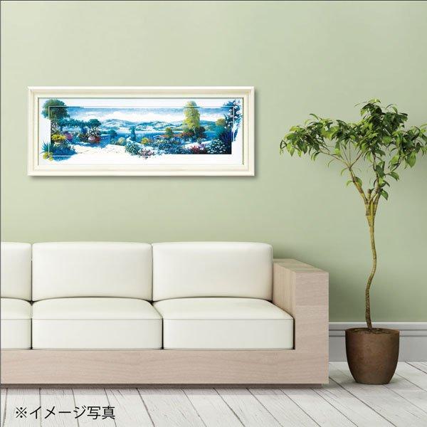 【絵画】ピーター モッツ「パノラマ テラス1(Lサイズ)」