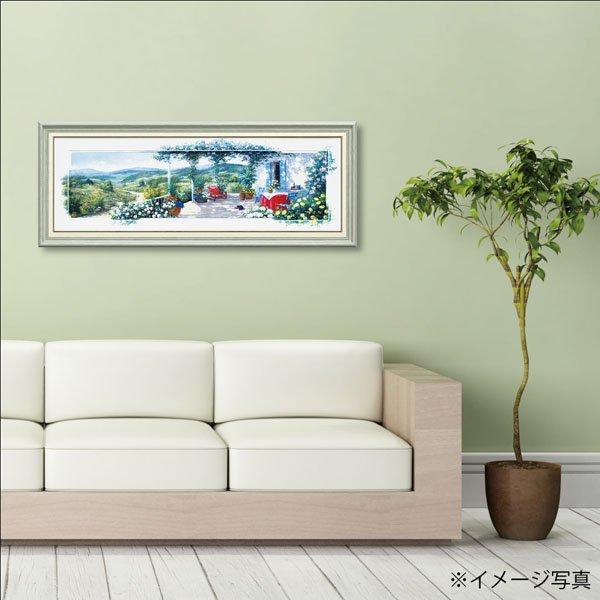 【絵画】ピーター モッツ「パノラマ テラス2(Lサイズ)」