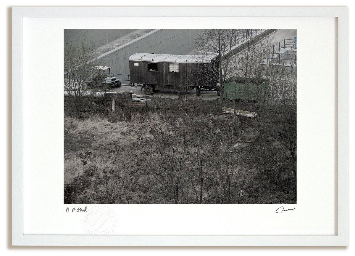 《アートフォト》東欧の廃貨車(撮影地:プラハ)(レンタル対象)