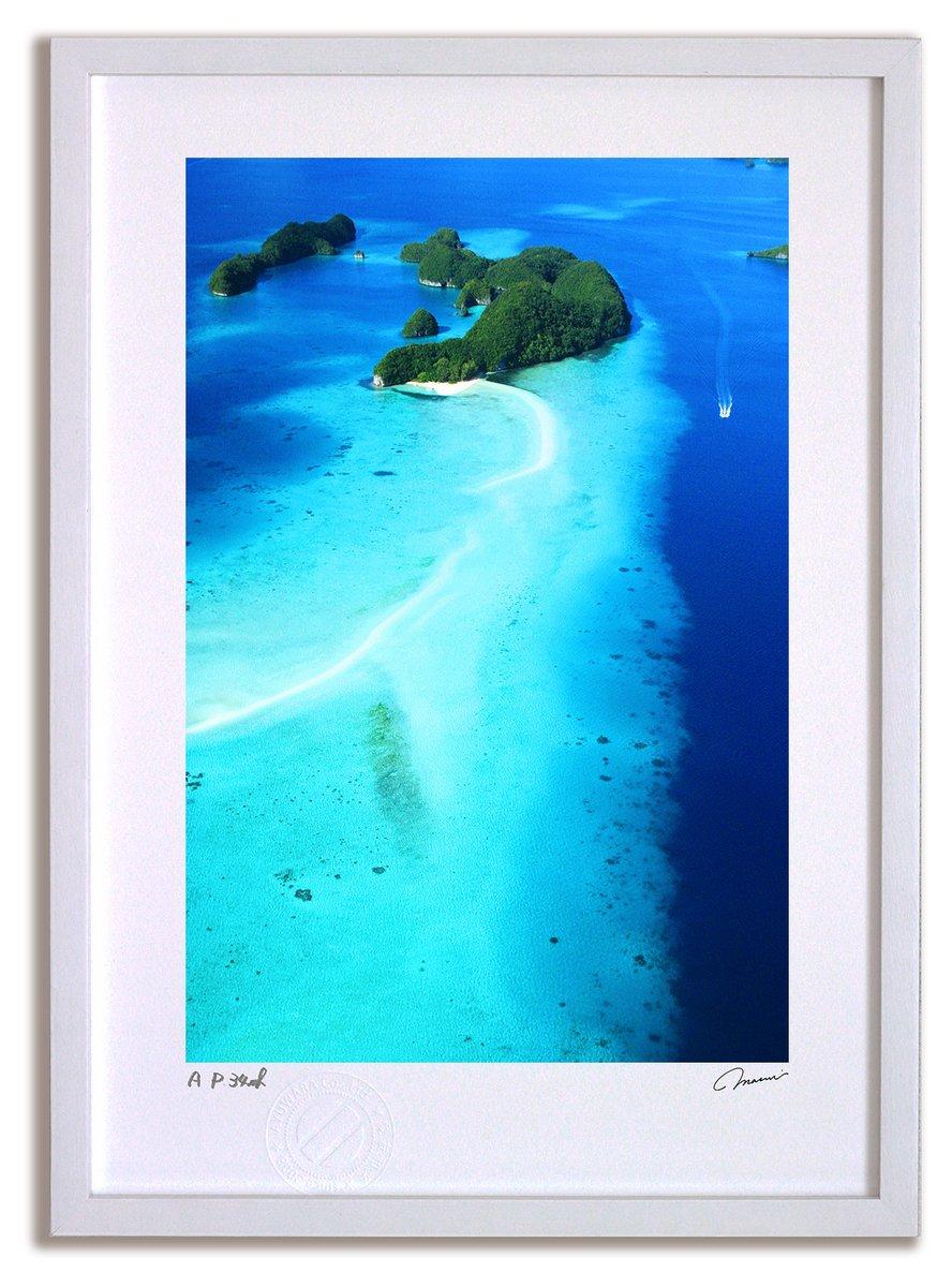 《アートフォト》パラオ ロングビーチ(レンタル対象)