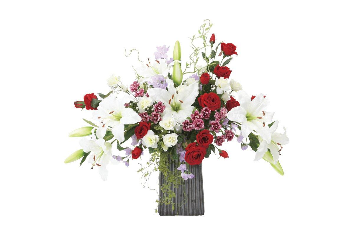 【アートフラワー 造花】レッドエレガンス〔テーブルタイプ〕/光触媒 観葉植物 ウンベラータ フェイクグリーン 花 胡蝶蘭 開店祝い 開業祝い 誕生祝い 造花 アートフレーム おしゃれ