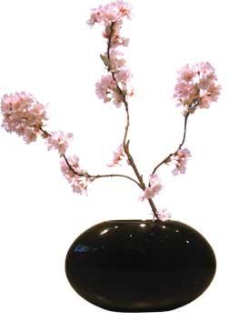 《造花・花瓶》F-style vase Cherry blossom(サクラ)